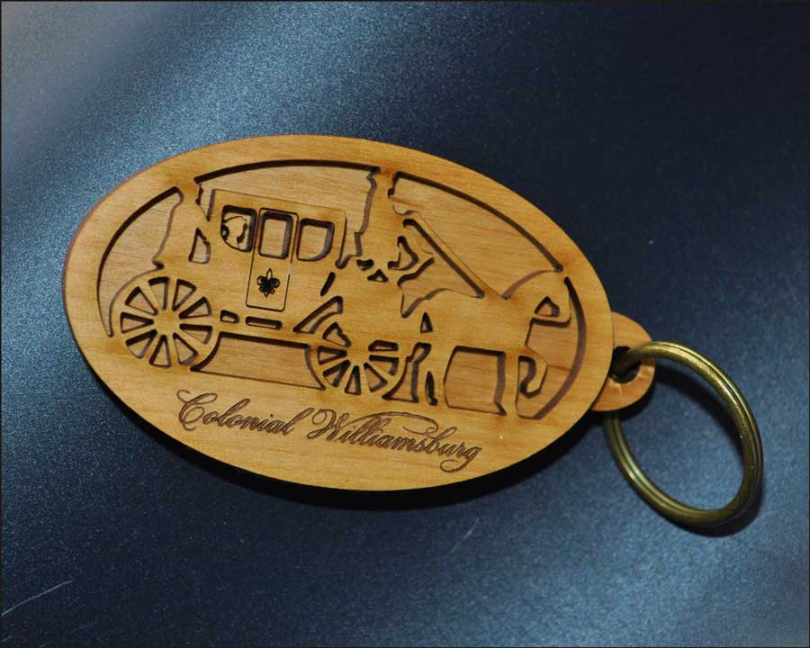 Colonial Williamsburg keyring