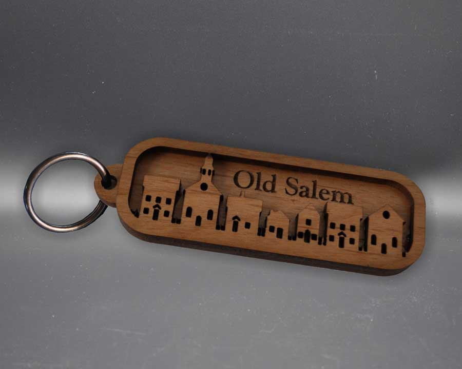 Old Salem keyring