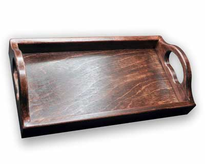 Wooden tray blank