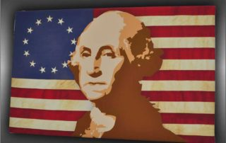 George Washington Stretched Canvas