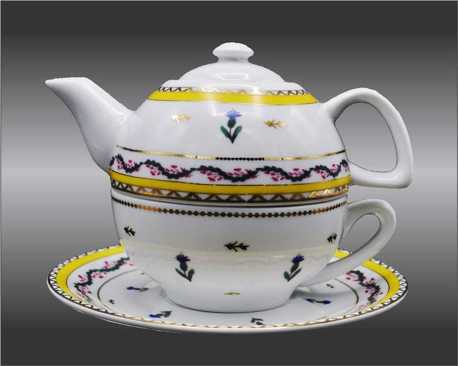 R CF Tea for one Teapot